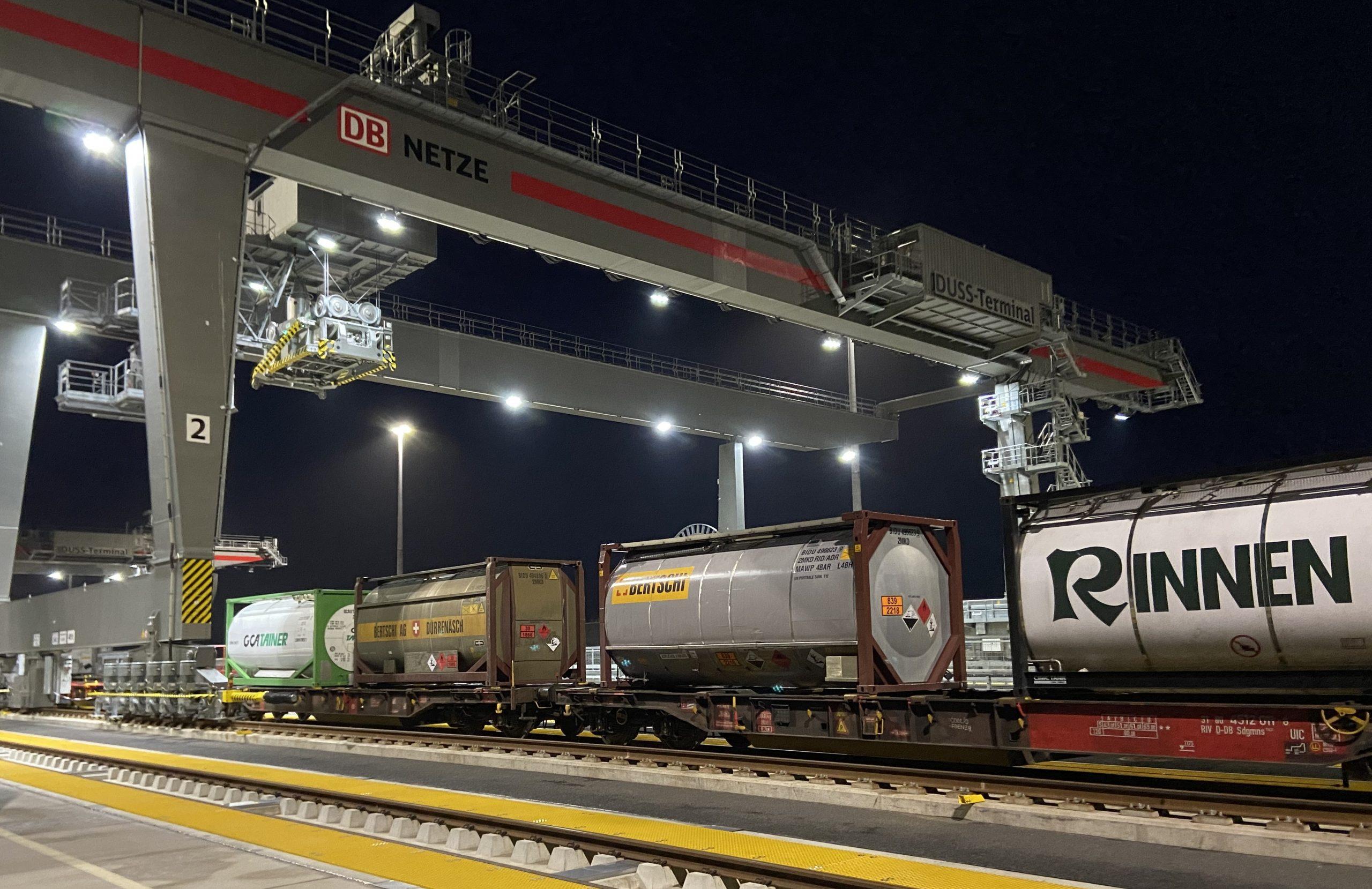 Kombiverkehr startet Schiene-Schiene-Umschlag im MegaHub in Hannover Lehrte