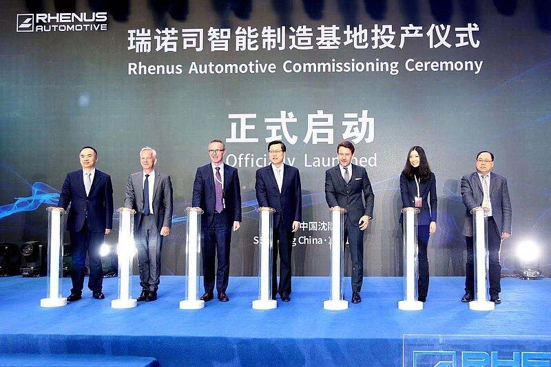 Rhenus produziert für BMW-Werk in China