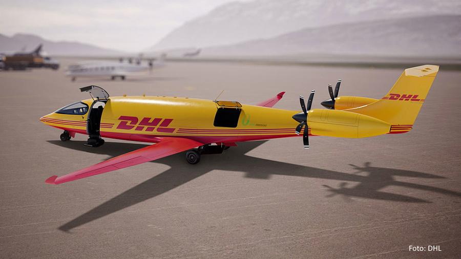 DHL Elektro Flieger