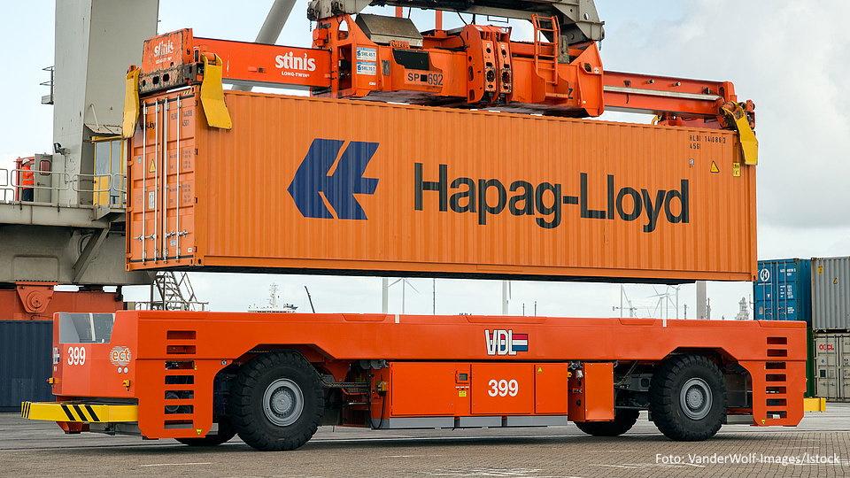 Hapag-Lloyd Container Van