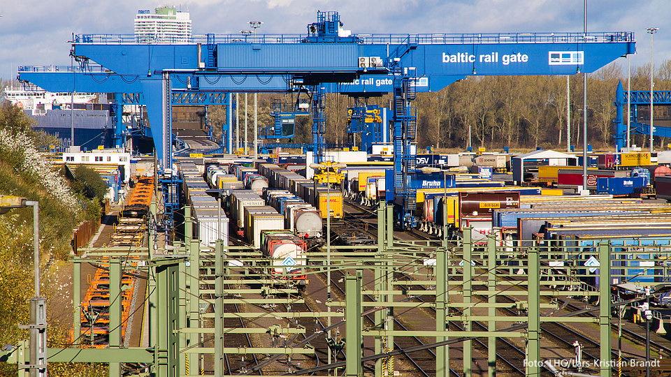 Kombiverkehr Baltic Rail gate LHG